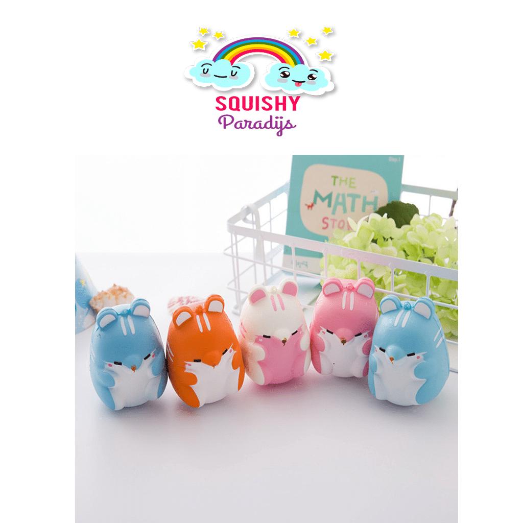 Hamster Squishy Kopen - Slow Rising Kawaii Squishie SquishyParadijs - SquishyParadijs.nl ...