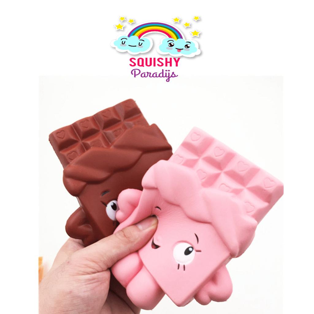 Squishy Terslow Di Dunia : Roze Chocoladereep Squishy Kopen - Slow Rising Kawaii Squishie SquishyParadijs ...