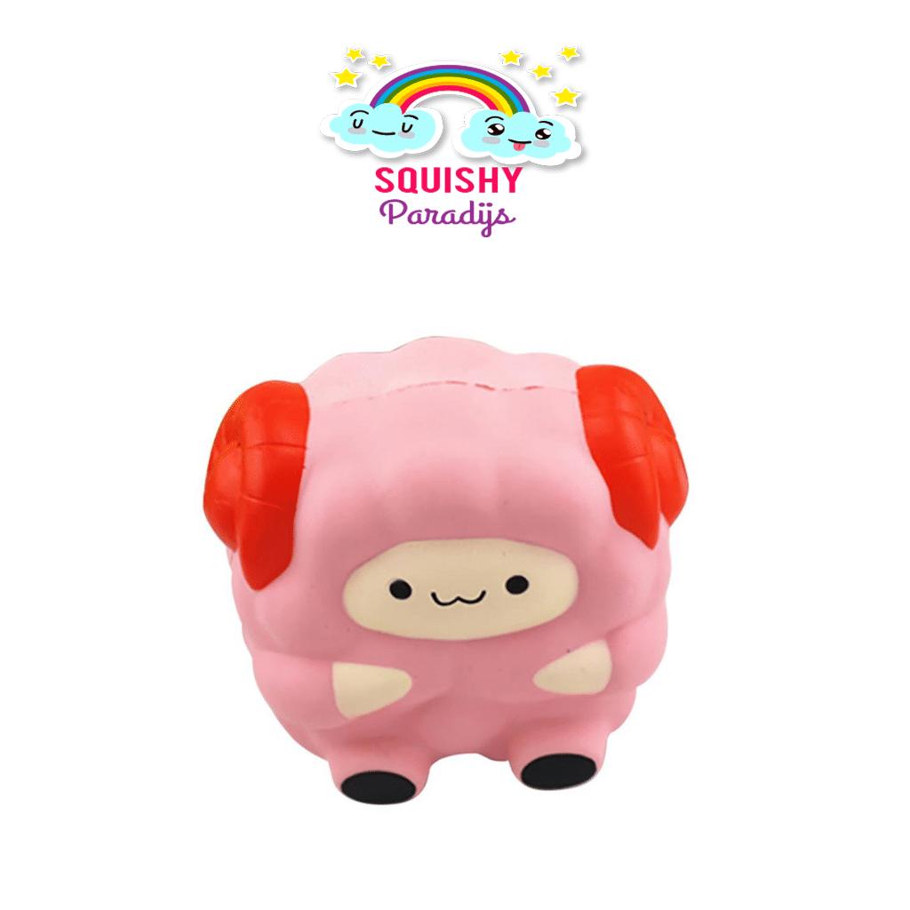 Squishy Terslow Di Dunia : Roze Lammetje Squishy Kopen - Slow Rising Kawaii Squishie SquishyParadijs - SquishyParadijs.nl ...