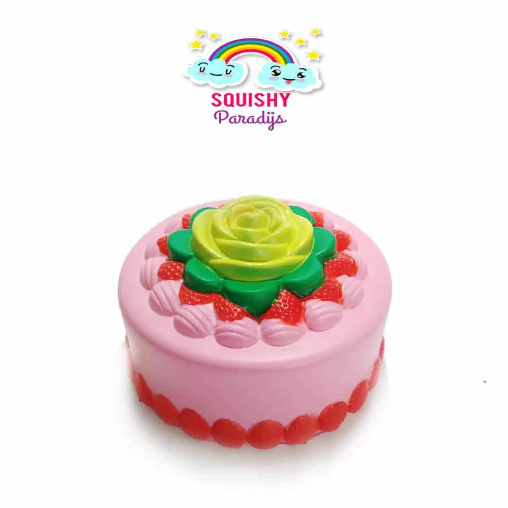 Squishy Terslow Di Dunia : Groene Aardbeien Cake Squishy Kopen ? Slow Rising Kawaii Squishie SquishyParadijs ...
