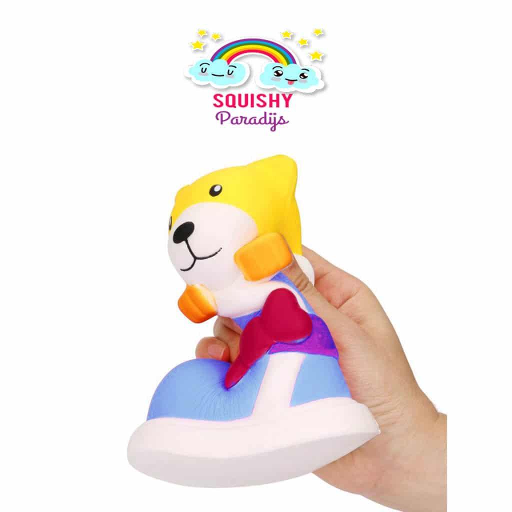 Puppy in Laarsje Squishy Kopen ? Slow Rising Kawaii Squishie SquishyParadijs - SquishyParadijs ...