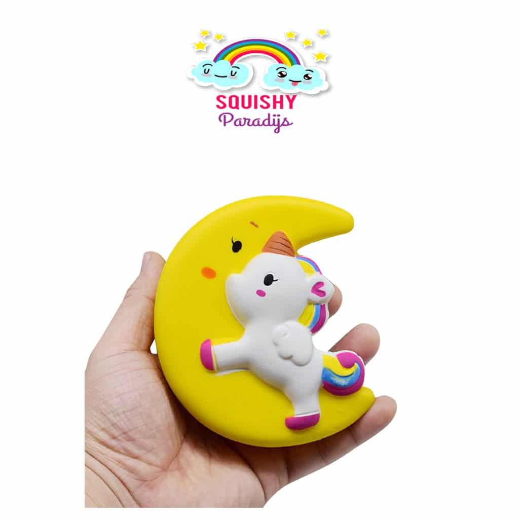 Unicorn op Maan Squishy Kopen ? Slow Rising Kawaii Squishie SquishyParadijs - SquishyParadijs ...