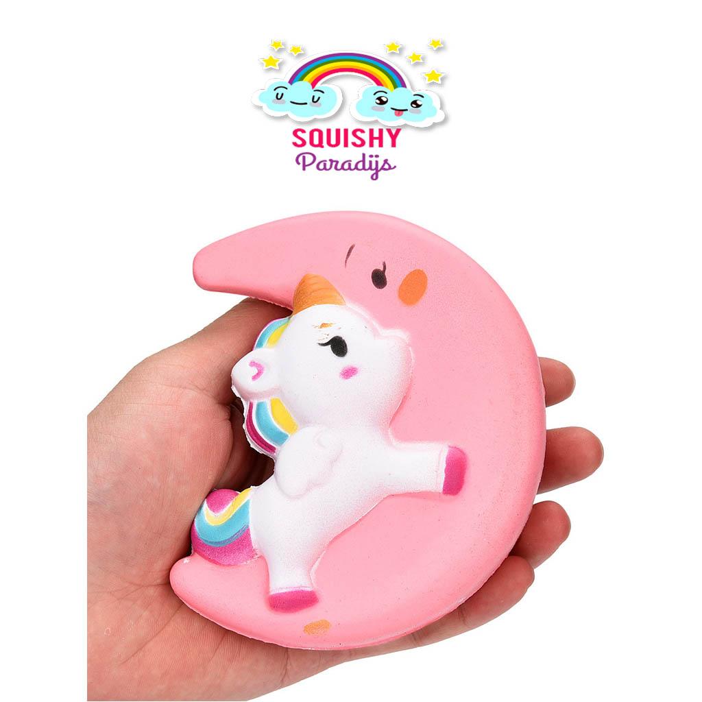 Squishy Terslow Di Dunia : Unicorn/Maan Squishy Kopen ? Slow Rising Kawaii Squishie SquishyParadijs - SquishyParadijs.nl ...